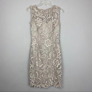 Lace cocktail party dress size medium.